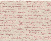 La Couture Writing in Red from Stof of Denmark