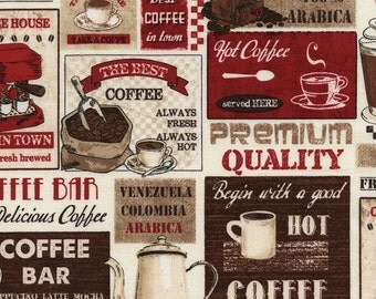 Coffee Patchwork from Timeless Treasures