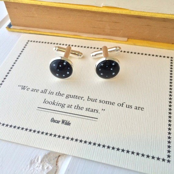 Oscar Wilde Star Cufflinks