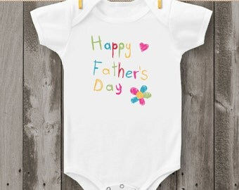Happy Father's Day Bodysuit or T-Shirt (Design 3)