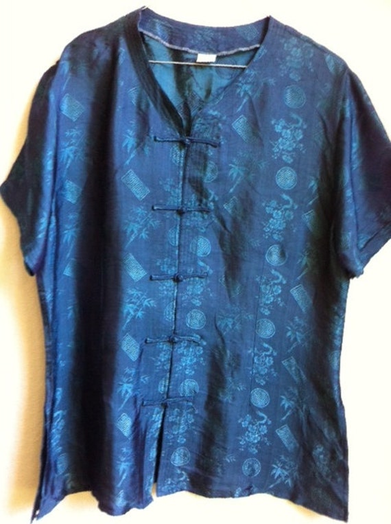 Chinese Print Blouse 35