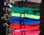 Handmade Adjustable Dog Seat Belt