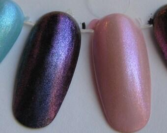 Enchant Duochrome Shimmer Top Coat Custom Nail Polish 5mL