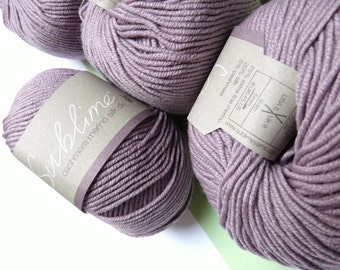 Sublime Yarn Cashmere Merino Silk Double Knit 50g (116m / 127yds) Light Purple