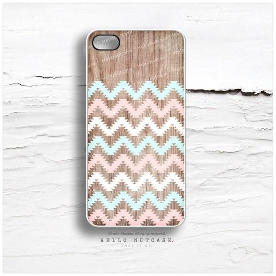 iPhone 6S Case Wood, iPhone 6S Plus Case Geometric, Wood iPhone 5s Case Chevron, Mint iPhone 6 Plus Case Cream Aztec iPhone Cover I37