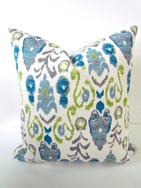 Turquoise Down Throw Pillows : Items similar to PILLOW Covers Turquoise Throw Pillows Teal Pillows Lime Green Pillows Navy Blue ...
