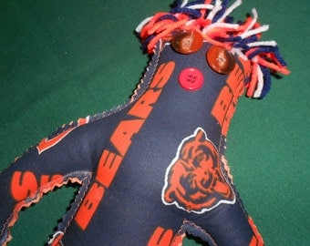 Chicago Bears Football Doll, NFL Football, Stress Releaser, Chicago, Illinois, Soldier Field