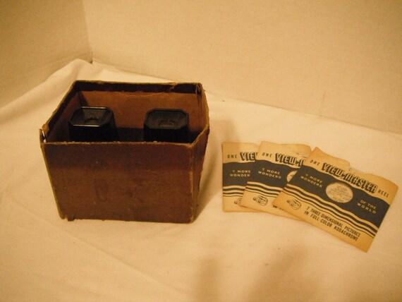 Vintage View Master And 4 Reels 1950s By Yonderyears On Etsy