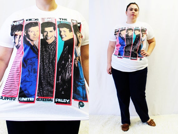 CLEARANCE Plus Size Vintage 'New Kids on the by TheCurvyElle