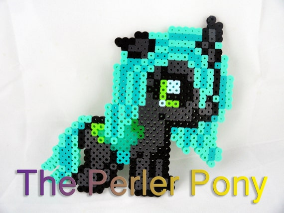 My Little Pony Silly Filly Perler Ponies: Queen Chrysalis