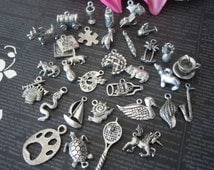 Silver Charms-Bracelet Charms-Necklace Charms-Miscellaneous Charms-Necklace Charms