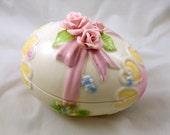Lefton Easter Egg Candy Dish