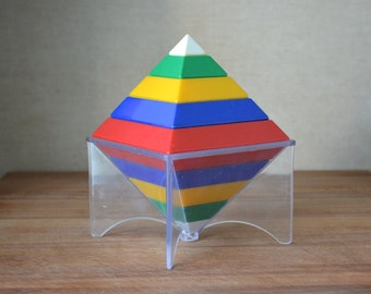 Popular Items For Pyramid Puzzle On Etsy