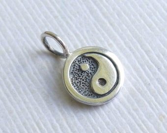 Sterling Silver Yin Yang Charm... 1 piece