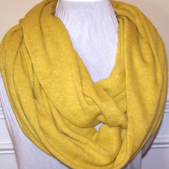infinity scarf mustard yellow infinity scarf by peachykeenday