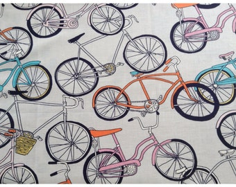 Ride - bicycle themed fabric