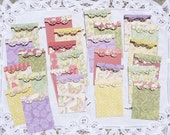 GORGEOUS Ear Ring Display Cards with bags