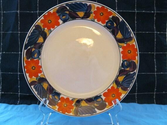 Vintage Adams Titian Ware 9 Plate Brocade