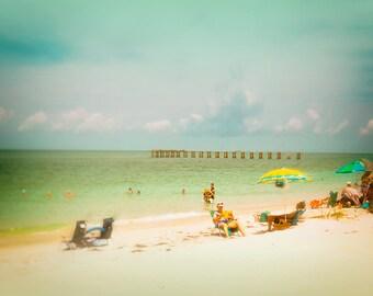 Beach Photography, Florida Beach Photo, Travel Photo, Pastel Colors, Wall Decor, Art Photography
