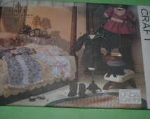 Vogue Craft 8241 Vogue Doll COllection Sewing PAttern Victorian Doll Clothes for 18 inch Doll Sewing Pattern - UNCUT -