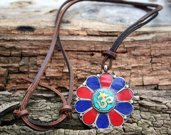 Sanskrit OM (Ohm) pendant necklace