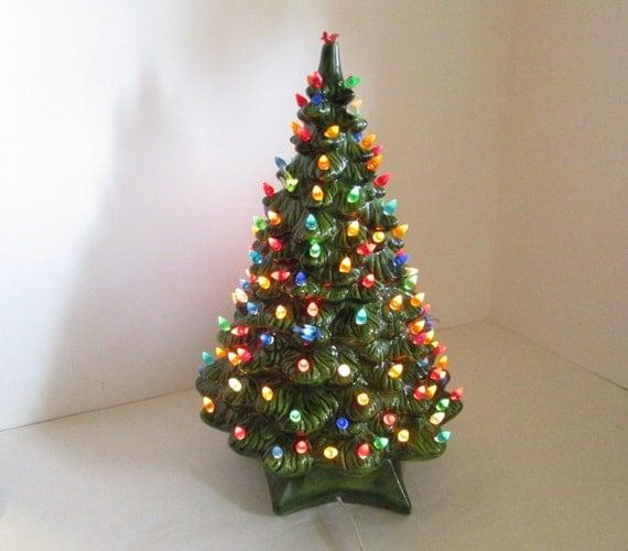 Lighted Christmas Carolers Ceramic Decoration By: Christmas Tree 19 Ceramic Lighted Holiday Decoration