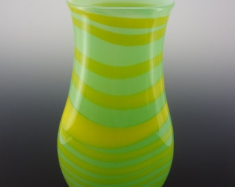 Large Hand Blown Glass Vase