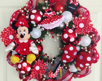 Minnie Mouse Wreath - Tokyo Disney Items