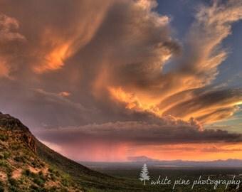 Tucson, Arizona Sunset 8x10 Photograph