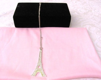 Paris Eiffel Tower Necklace / women's jewelry / Jewelry / Paris / France / Collier Tour Eiffel / women