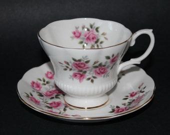 Royal Albert Bone China Teacup and Saucer Set.  3 Sets Available