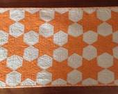 """Table runner up cycled from 1930's vintage quilt.  16.5"""" x 37"""""""