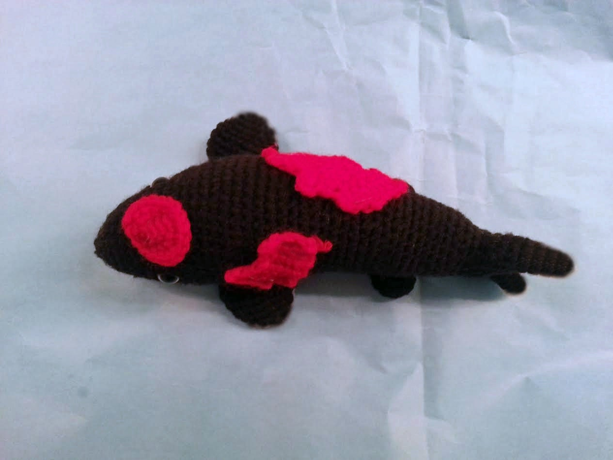 Koi Fish 2 Collection 6 Colors Amigurumi Crochet Pattern PDF