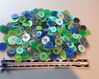 Button Lot: Ocean