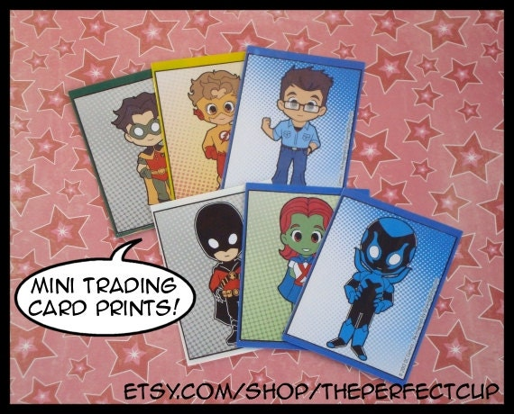 Teen Titans Trading Cards 4