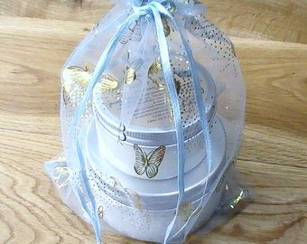 Bath and Beauty Gift Set - All Natural Bath Salts & Body Butter - Lavender Geranium Spa Gift Set