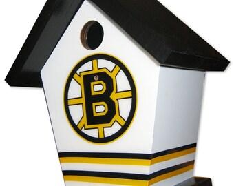 Boston Bruins Birdhouse
