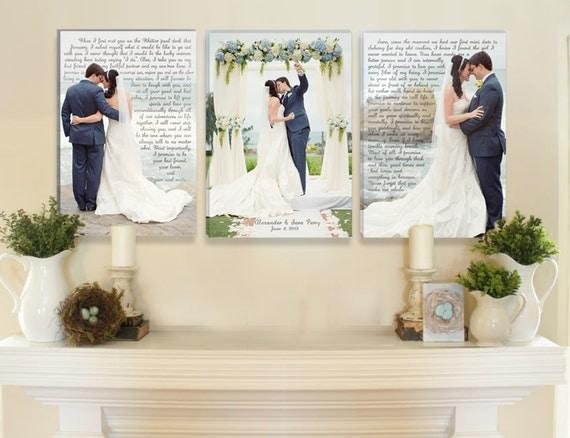 Wedding Vow Canvas Art