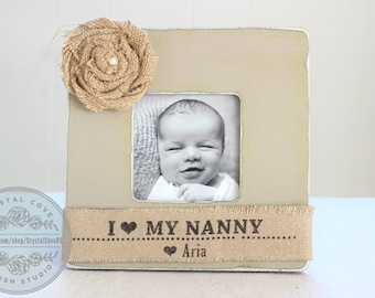 grandma grandpa gift personalized gift for grandparents picture frame from grandchild grandkids grandbaby