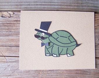 Dapper Turtle Notecard