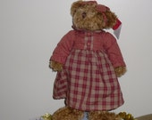 Vintage RUSS Avon Bear Collection