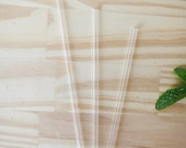Mason Jar Tumbler Glass Straws