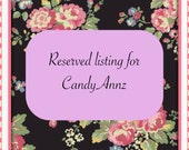 Reserved for CandyAnnz