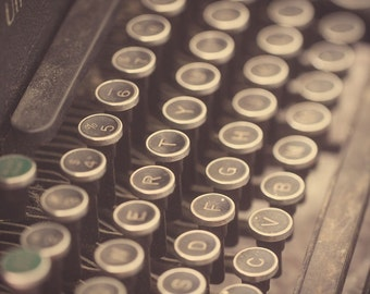 vintage typewriter life fine art photography fathers day mothers day birthday anniversary