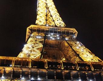 city La Tour Eiffel fine art photography night fathers day Paris France lights Eiffel Tower Mothers Day birthday kids