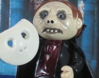 Phantom of the Opera Wee Monster OOAK handmade collectible miniature, ornament