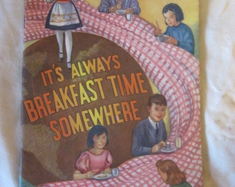 It's Always Breakfast Somewhere Letton National Dairy Council 1960 CL5-17