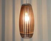Woodshades - Lamello - laser cut wooden lamp - diy kit