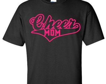 Mom Cheer Shirt, Cheerleader Mom Shirt
