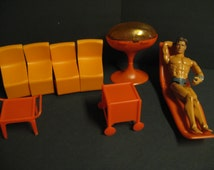 Sale 15% Off Vintage Barbie Dollhouse Furniture